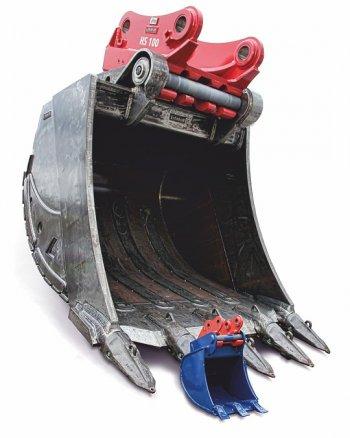 Super Felstief-, Tieflöffel für Minibagger, Kompakt-, Hydraulik @OZ_23